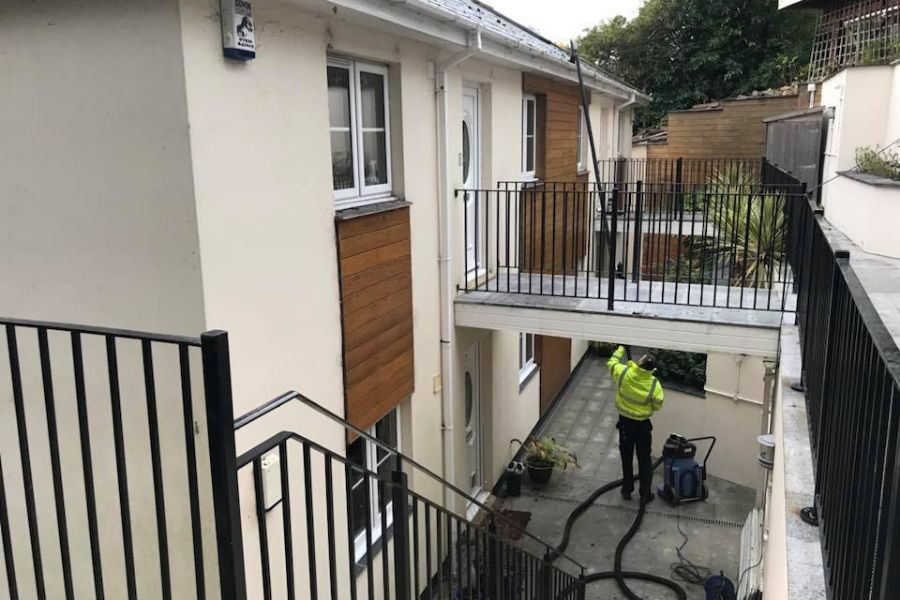 Commercial Exterior Cleaning in Dawlish, Devon
