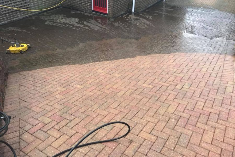 Driveway Cleaning in Dawlish, Devon