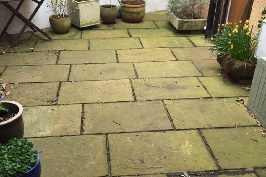 Residential Patio Cleaning in Exeter, Devon