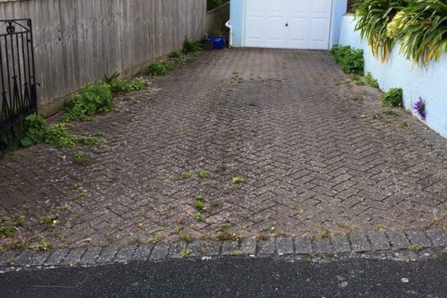 Residential Driveway Cleaning in Dawlish, Devon