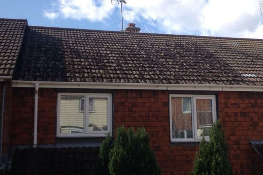 Residential Roof Cleaning in Exeter, Devon