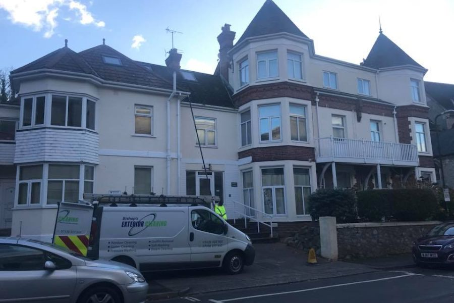 Residential Gutter Cleaning in Dawlish, Devon