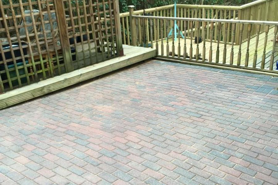 Patio Cleaning in Exeter, Devon