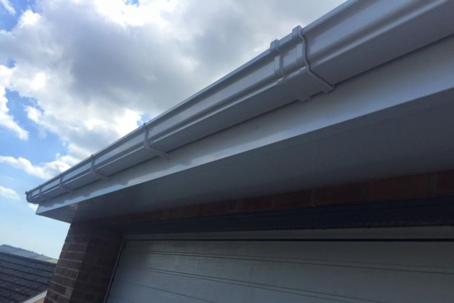 Residential Soffit & Fascia Cleaning in Exeter, Devon