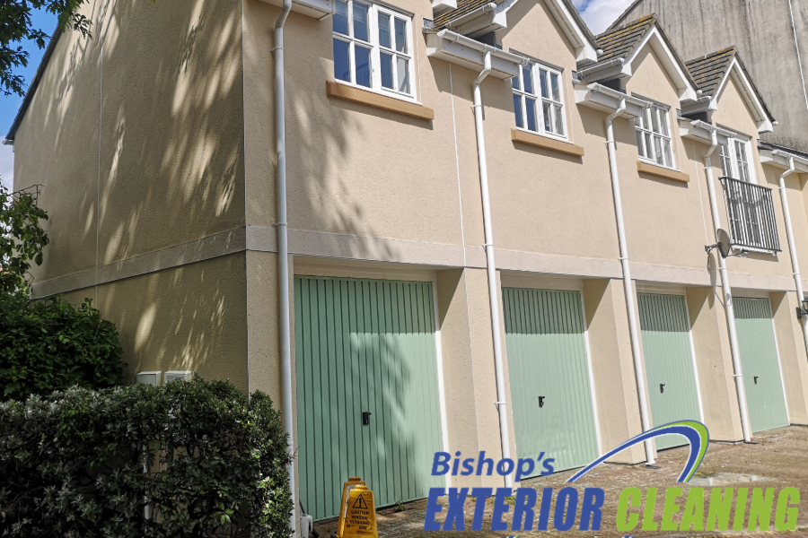 Commercial Softwashing in Exmouth, Devon