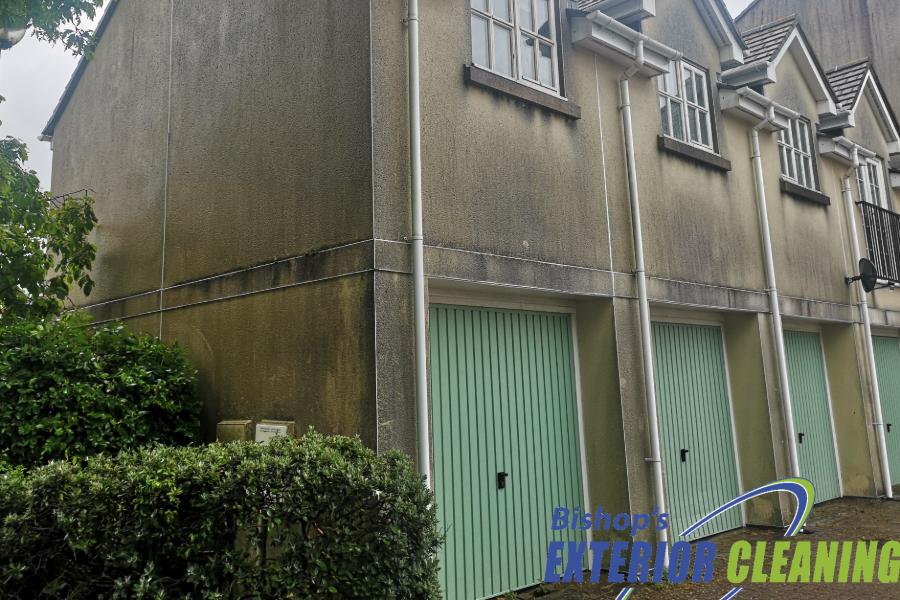 Residential Softwashing in Exmouth, Devon